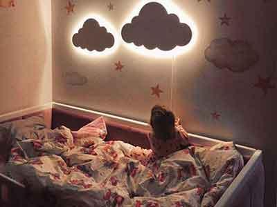 بهترین چراغ دیورا کوب اتاق کودک