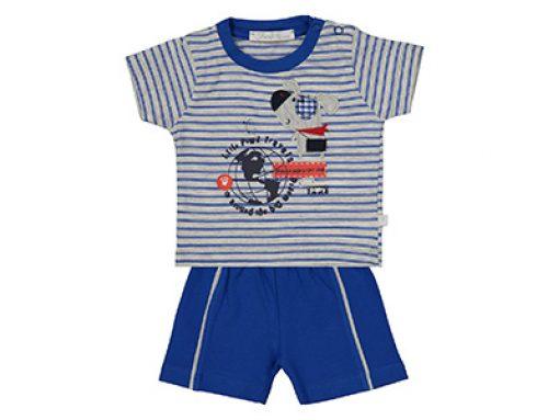 بهترین ست تیشرت و شلوارک نوزادی پسرانه-۵ نمونه پر فروش