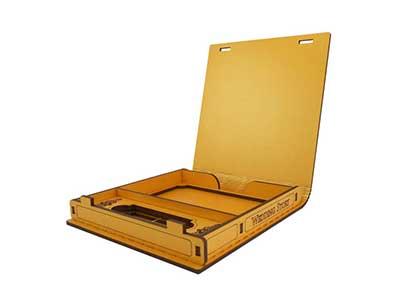 جعبه هدیه طرح آلبوم